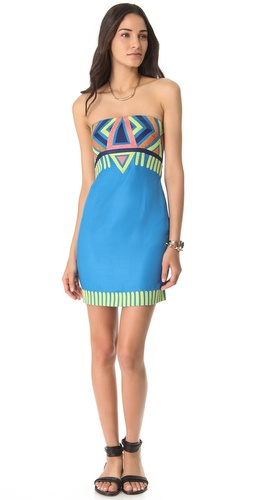 Shop Mara Hoffman Embroidered Strapless Dress and Mara Hoffman online - Apparel,Womens,Dresses,Cocktail,Night_Out, online Store