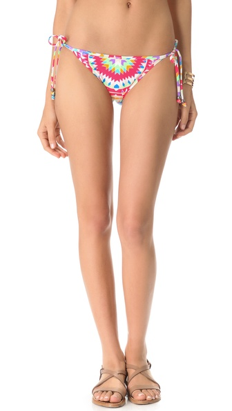 Mara Hoffman Pow Wow Tie Side Bikini Bottoms