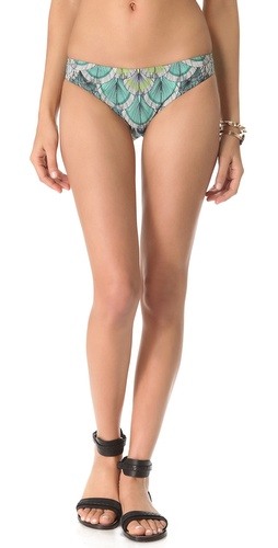 Shop Mara Hoffman Feather Classic Bikini Bottoms and Mara Hoffman online - Apparel, Womens, Swim, Swim,  online Store