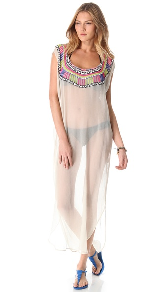 Mara Hoffman Electric Casino Dashiki Cover Up