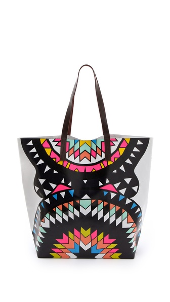 Mara Hoffman Vinyl Printed Bag