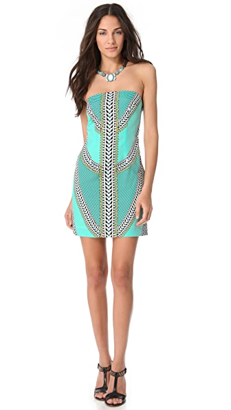 Mara Hoffman Strapless Mini Dress