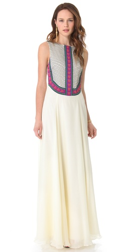 Shop Mara Hoffman Beaded Gown and Mara Hoffman online - Apparel, Womens, Dresses, Cocktail, Night_Out,  online Store