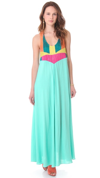 Mara Hoffman Corded Tank Maxi Dress