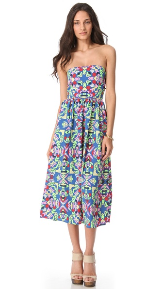Mara Hoffman Strapless Sun Dress