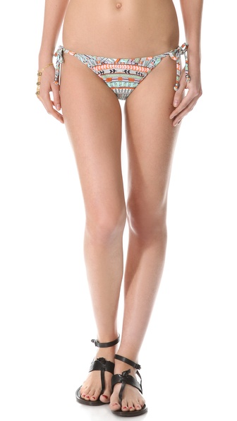 Mara Hoffman Rainbow Tie Side Bikini Bottoms