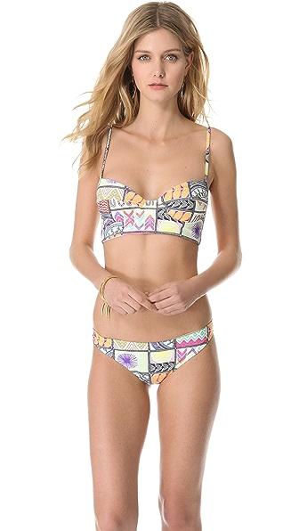 Mara Hoffman Quilts Bikini Top
