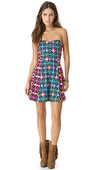 Mara Hoffman Quilted Mini Dress