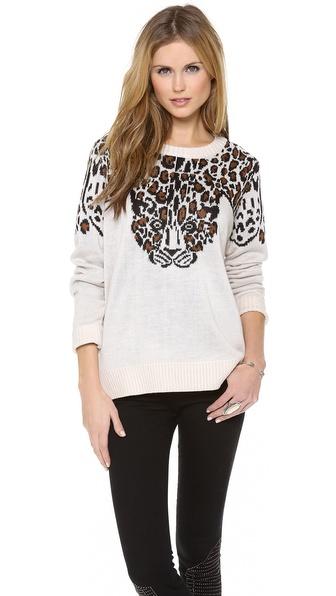 Mara Hoffman Leopard Pullover
