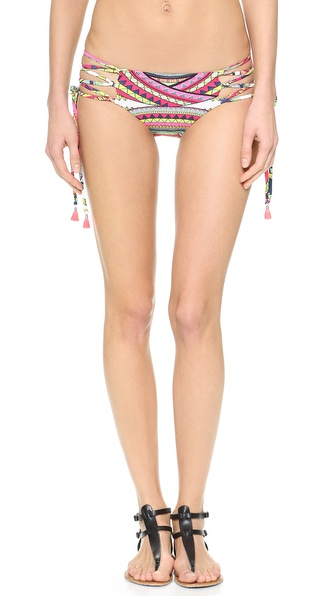 Mara Hoffman Lace Up Bikini Bottoms