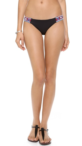Mara Hoffman Mirror Embroidery Bikini Bottoms