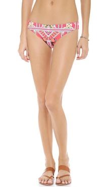 Mara Hoffman Ananda Coral Bikini Bottoms
