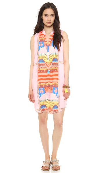 Mara Hoffman Sleeveless Shirt Dress