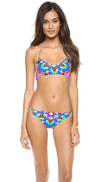 Mara Hoffman Kites Basket Weave Bikini Top