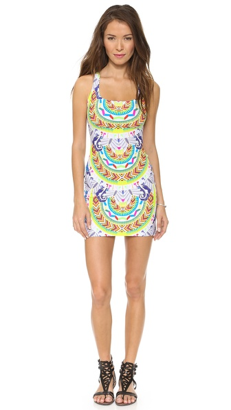 Mara Hoffman Jungle Trip Racer Back Mini Dress