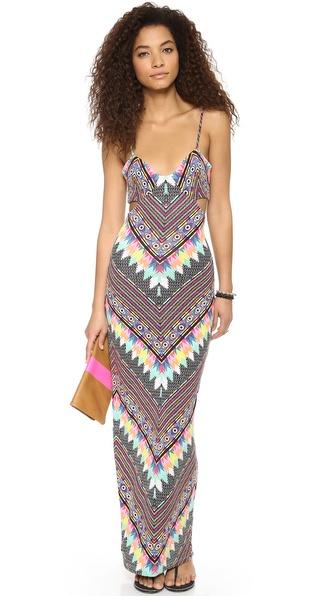 Mara Hoffman Divine Cutout Maxi Dress