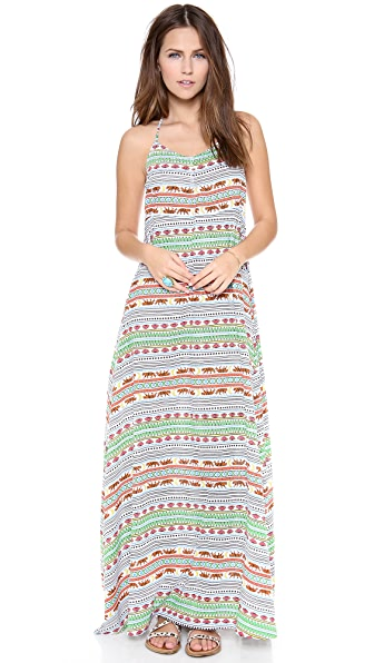 Mara Hoffman Tiger Stripe Maxi Dress