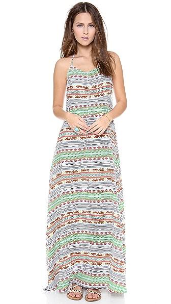 Mara Hoffman Tiger Stripe Maxi Dress