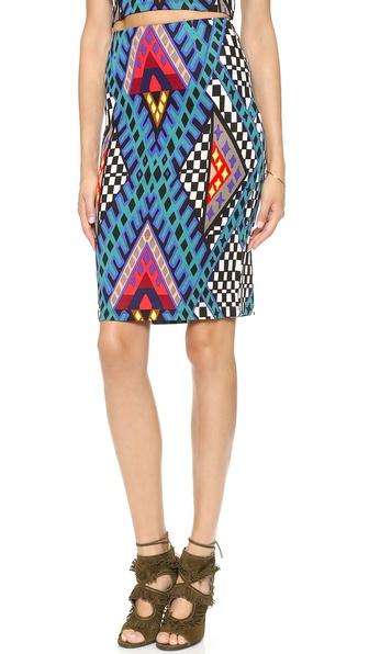 Mara Hoffman High Waisted Pencil Skirt