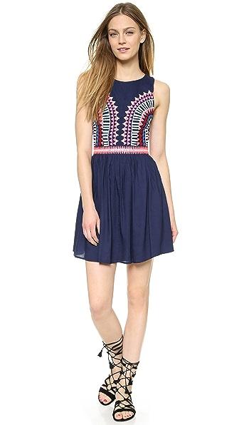 Kupi Mara Hoffman haljinu online i raspordaja za kupiti Mara Hoffman Open Back Mini Dress Navy online