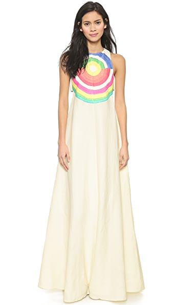 Kupi Mara Hoffman haljinu online i raspordaja za kupiti Mara Hoffman Embroidered Cutout Dress Electrolight Stone online