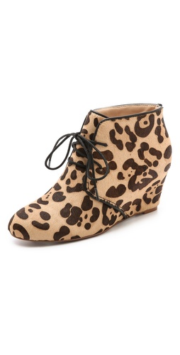 Marais USA Curve Haircalf Wedge Booties at Shopbop / East Dane