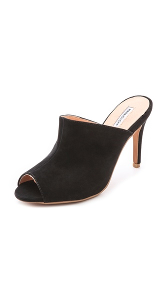 Marais Usa Open Toe Mules - Black at Shopbop / East Dane