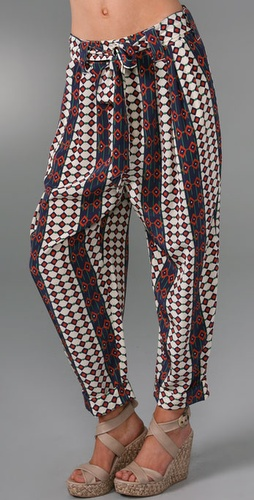 Marc by Marc Jacobs Diamond Stripe Pants
