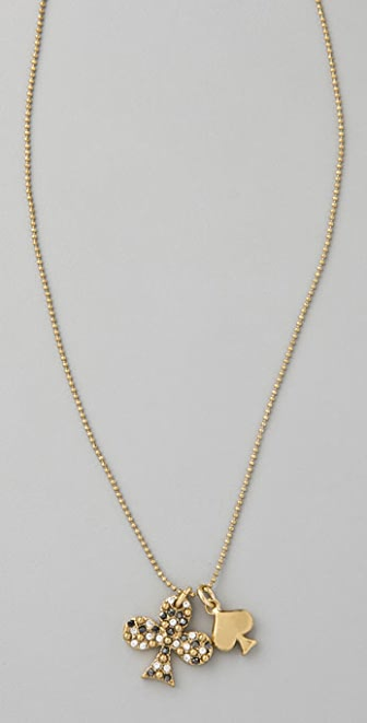 Marc by Marc Jacobs House of Cards Pave Club Pendant Necklace