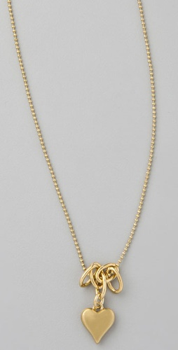 Marc by Marc Jacobs House of Cards Bubbly Heart Pendant Necklace