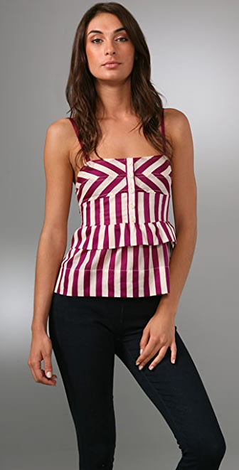 Marc by Marc Jacobs Deco Stripe Top