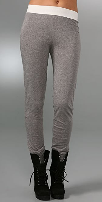 Marc by Marc Jacobs Heather Jersey Leggings