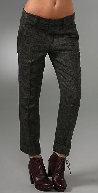 Marc by Marc Jacobs Reilly Herringbone Pants