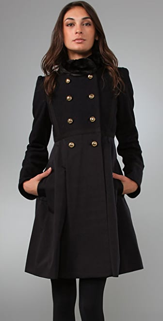Marc by Marc Jacobs Gemini Melton Coat