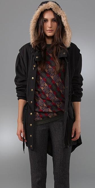 Marc by Marc Jacobs Vintage Fleece Jacket