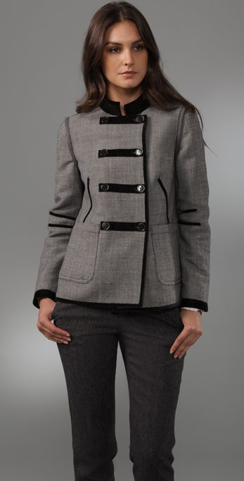 Marc by Marc Jacobs Reversible Two Tone Jacket