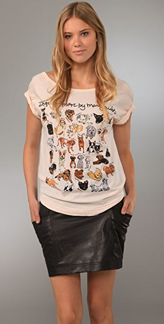 Marc by Marc Jacobs Dogs of MMJ Tee