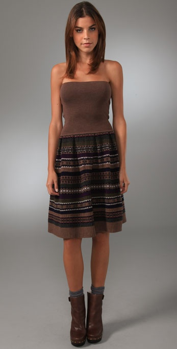 Marc by Marc Jacobs Buzzy Fair Isle Dress / Skirt
