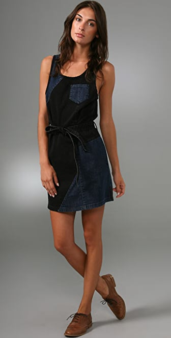 Marc by Marc Jacobs Patchwork Denim Dress