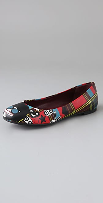 Marc by Marc Jacobs Miss Marc Flats