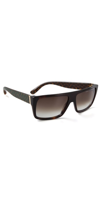 Marc by Marc Jacobs Side Stripe Sunglasses