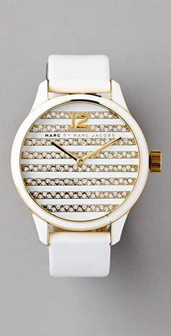 Marc by Marc Jacobs Lidia Stripe Watch