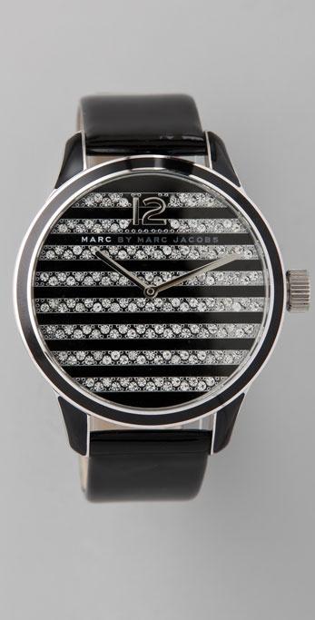 Marc by Marc Jacobs Linda Stripe Watch