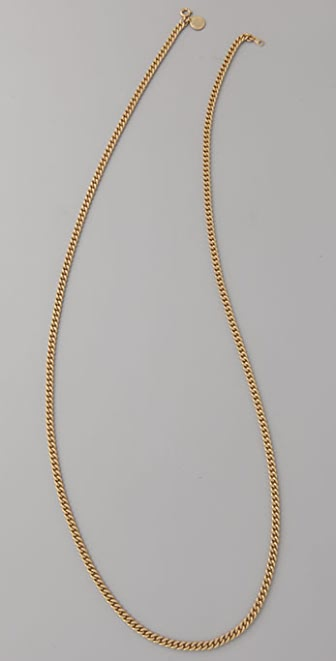 Marc by Marc Jacobs Curb Chain Layering Necklace