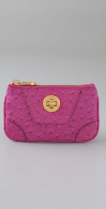 Marc by Marc Jacobs Ozzie Square Key Pouch