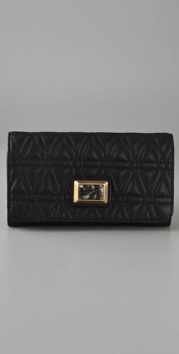 Marc by Marc Jacobs Party Foret Long Trifold Wallet