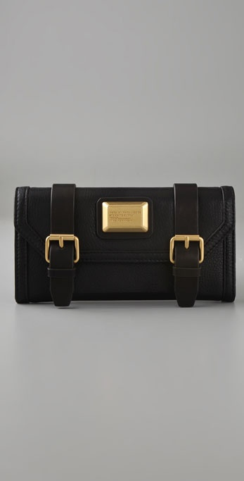 Marc by Marc Jacobs Saddlery Continental Wallet
