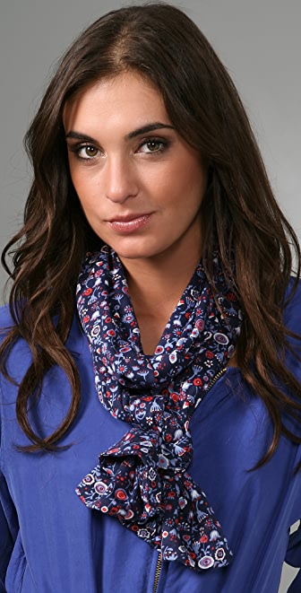 Marc by Marc Jacobs Polly Jean Floral Jersey Scarf
