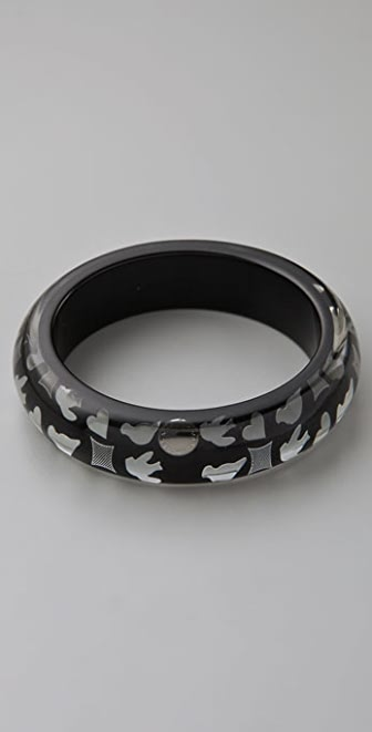 Marc by Marc Jacobs Save the Birds Confetti Inlay Bangle