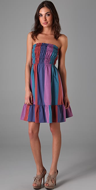 Marc by Marc Jacobs Cotton Stripe Dress
